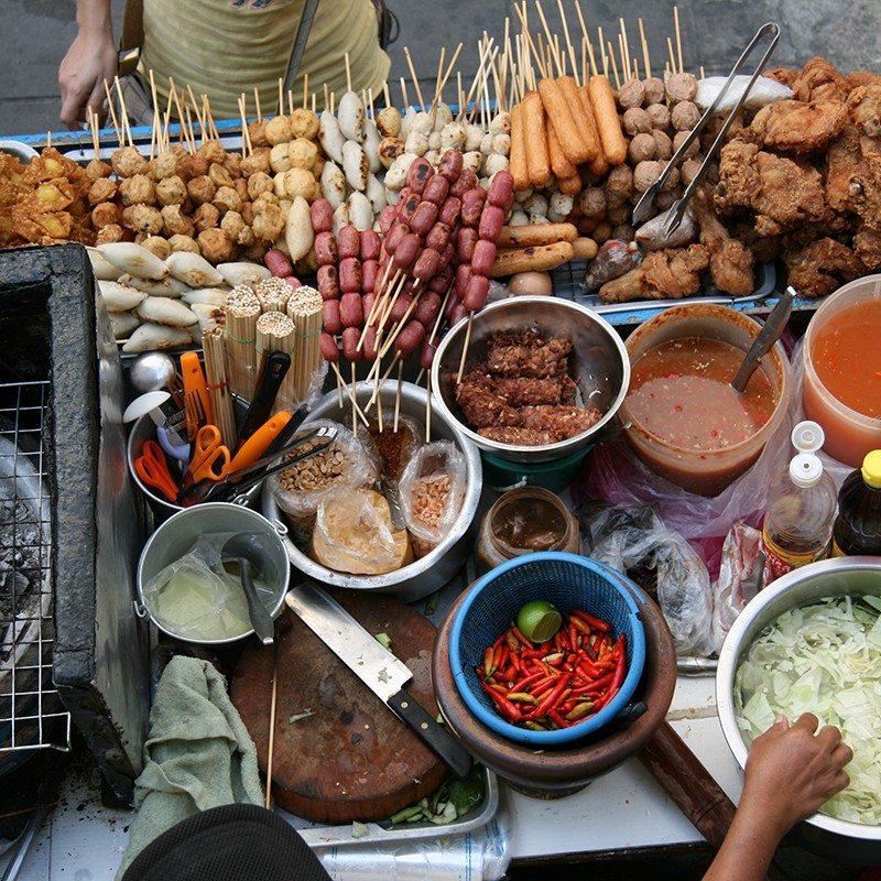 Street food in Asia