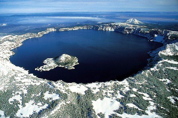 Crater Lake, Mt. Mazama — Oregon, USA