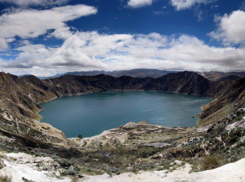 Lake Quilotoa — Ecuador