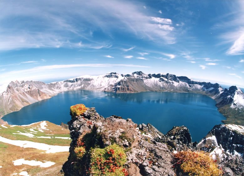 Heaven Lake (Tian chi) - North Korea/China border