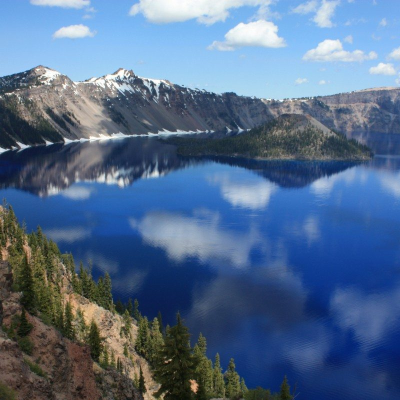 Sinnott Memorial Lookout, Crater Lake National Park