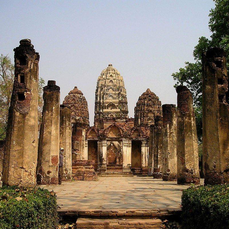 Shrine in Southeast Asia