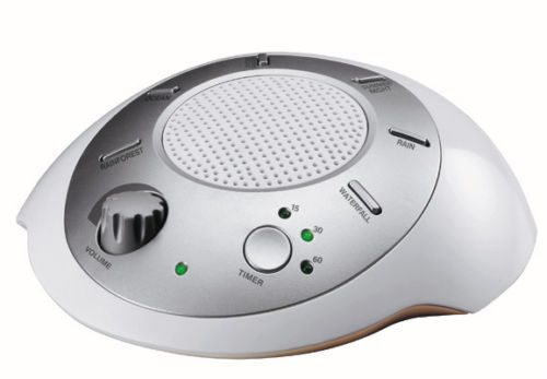 Homedics Ss-2000f Sound Spa Relaxation Machine with 6 Nature Sounds