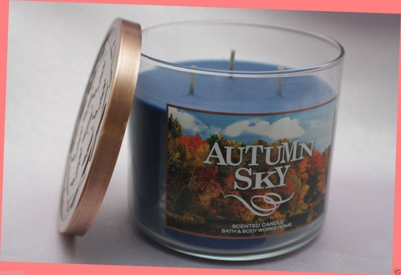 Home Autumn Sky Scented Candle
