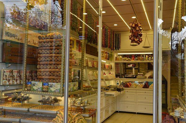 Dessert Shop in Turkey