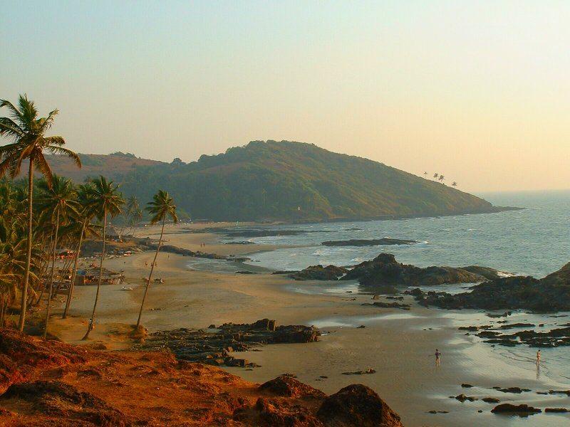 India Goa, Vagator Beach