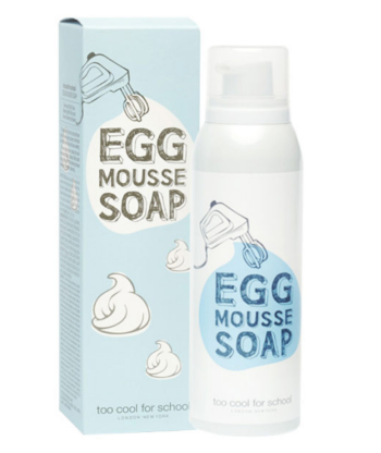 Too Cool For School Egg Mousse Soap
