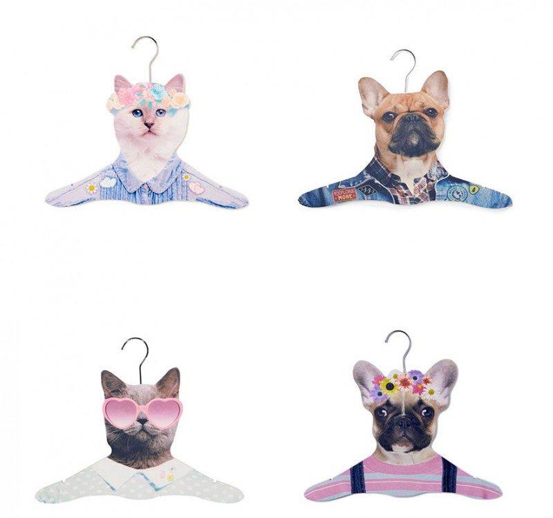 Cute animal hangers