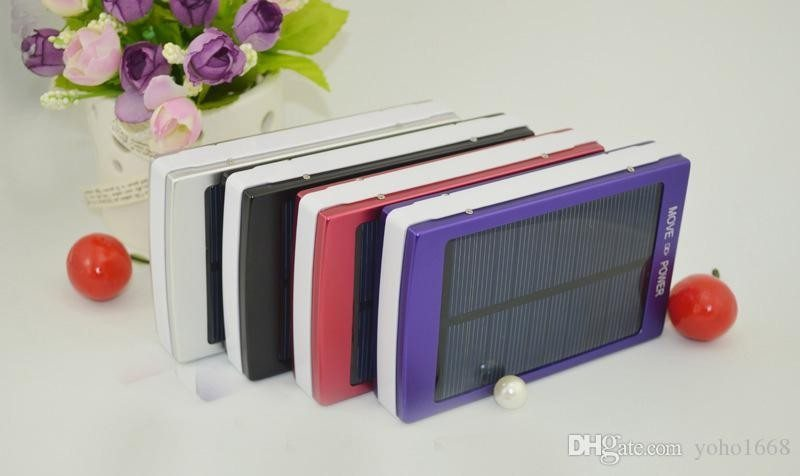 The 30000mAh solar charger and power bank