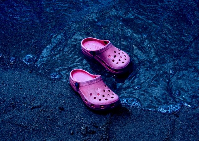 Crocs for rainy days