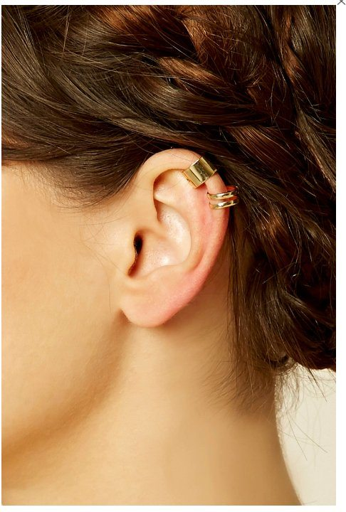 High Polished Ear Cuffs