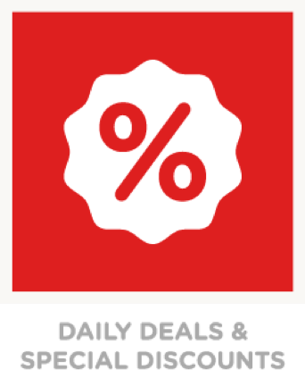 Daily Deals & Special Discounts