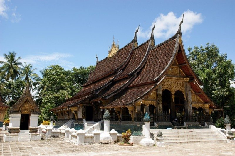 The ancient town of Luang Prabang, Laos