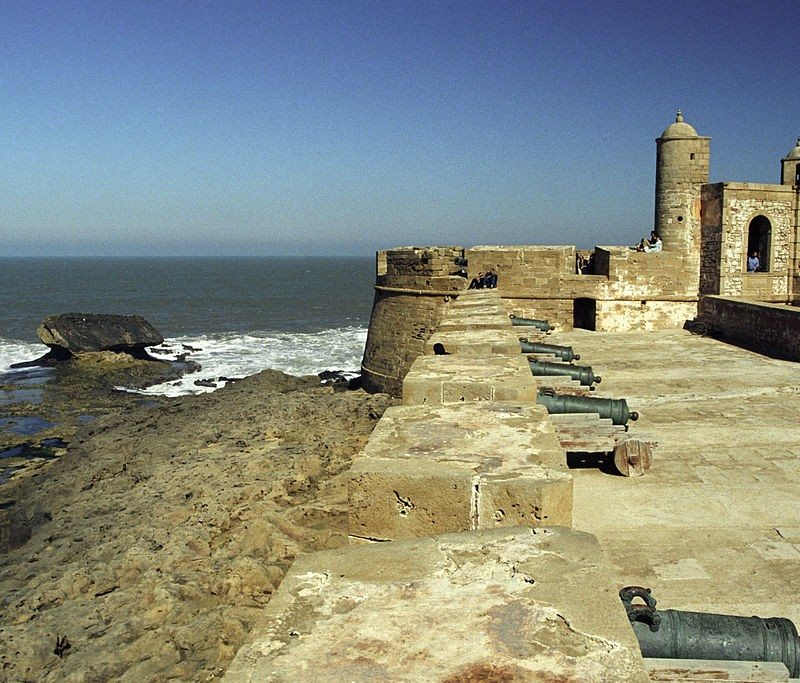 Old Walls of Essaouira. City walls.