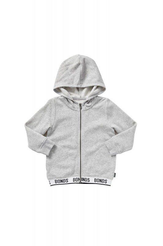 Logo signature zip hoodie