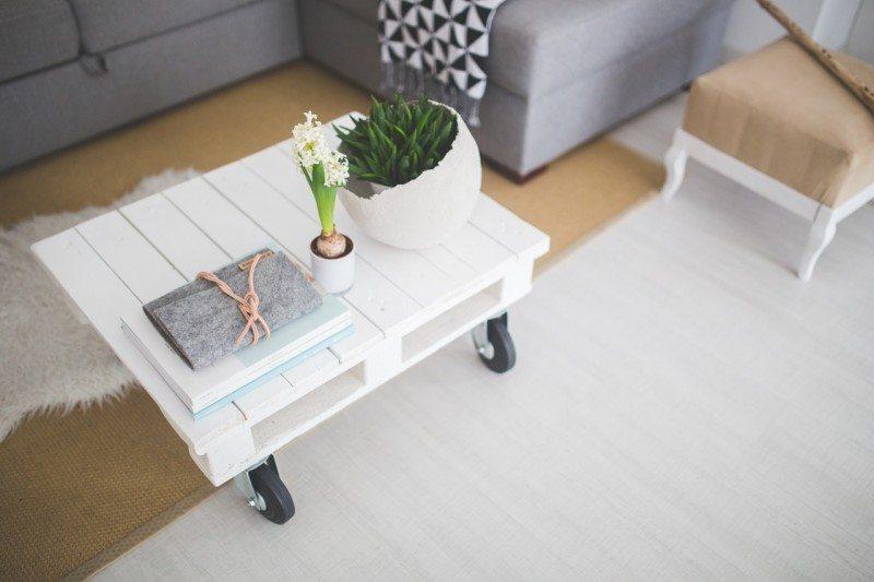 Table White Home Interior