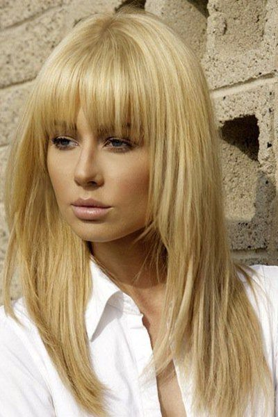 Long blonde wig from Sammydress