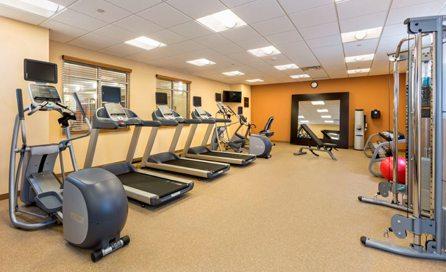 Fitness Room at Hilton