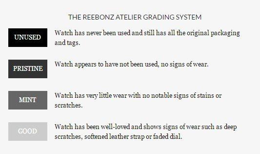 Reebonz Timepiece Grading System