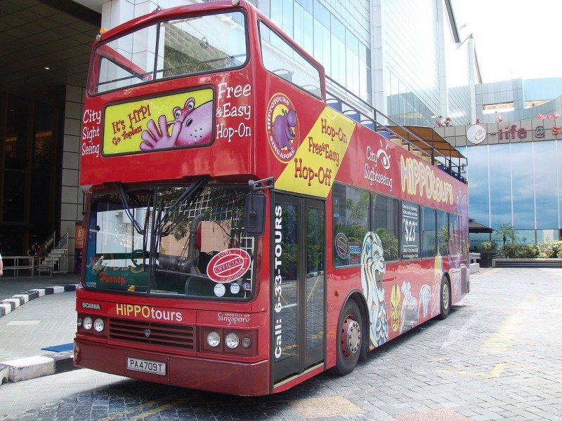 City Sightseeing Tour Bus Singapore
