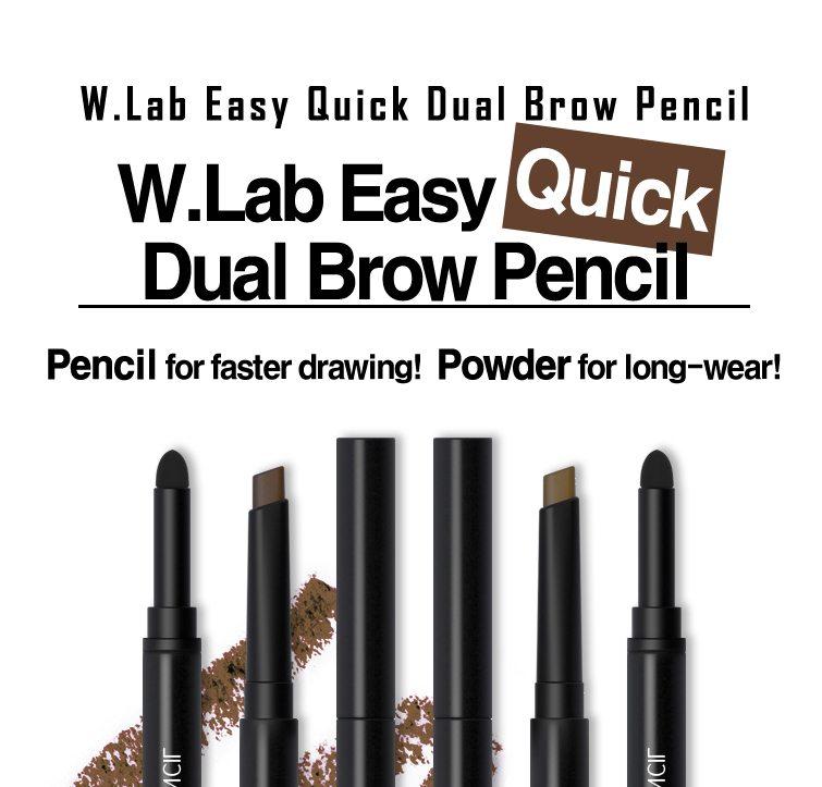 W.Lab Easy Quick Dual Brow Pencil