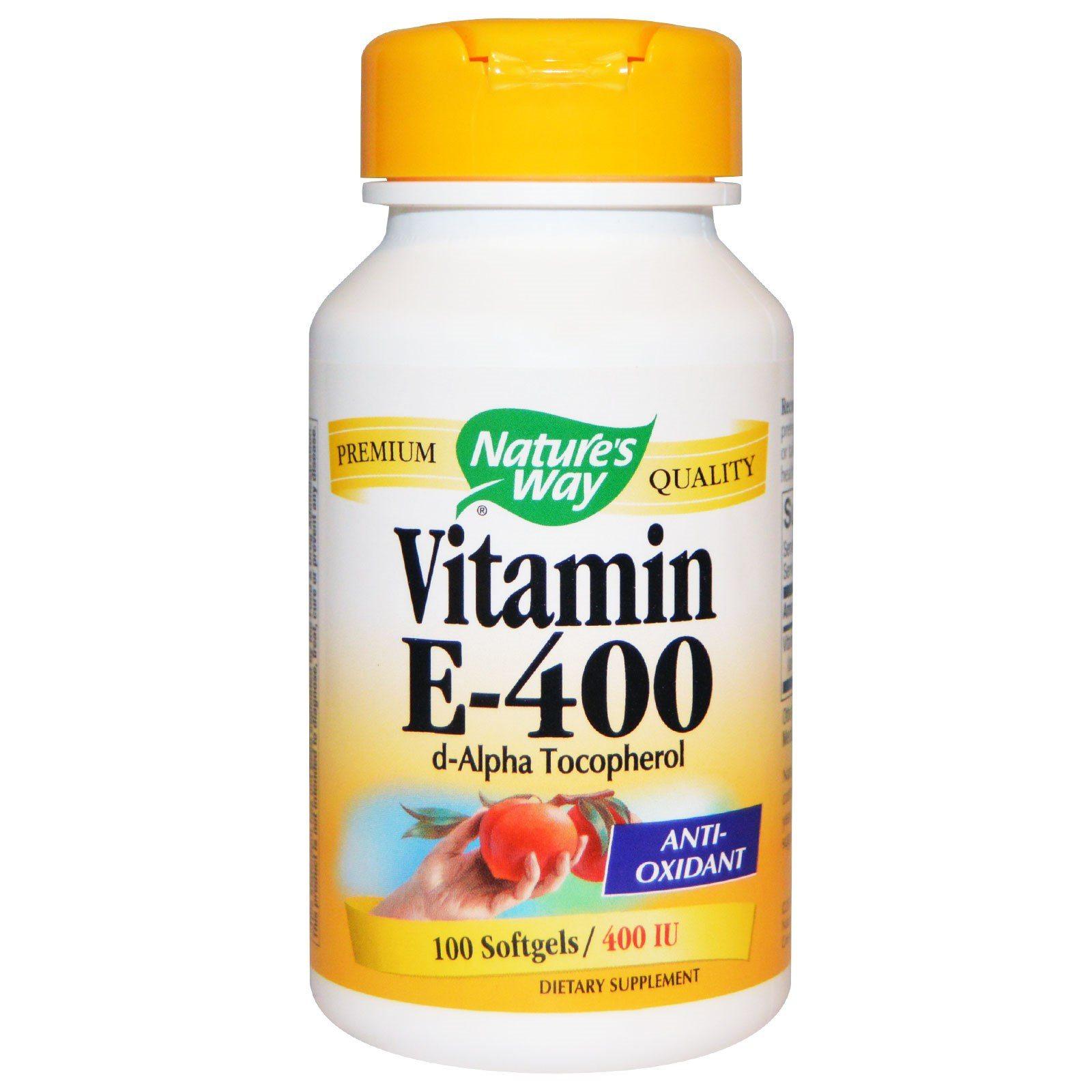 Vitamin E, repairing damaged cells