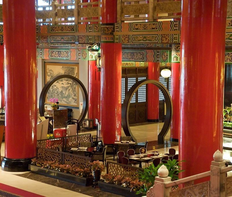 The Grand Hotel in Taipei, Taiwan