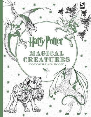Harry Potter Magical Creatures Colouring Book Warner Brothers