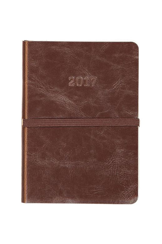 2017 A6 Daily Soft Buffalo Diary soft leather cover