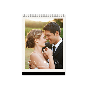 engagement year photobook calendar