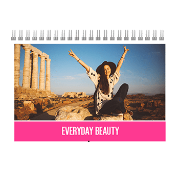 everyday beauty photobook calendar