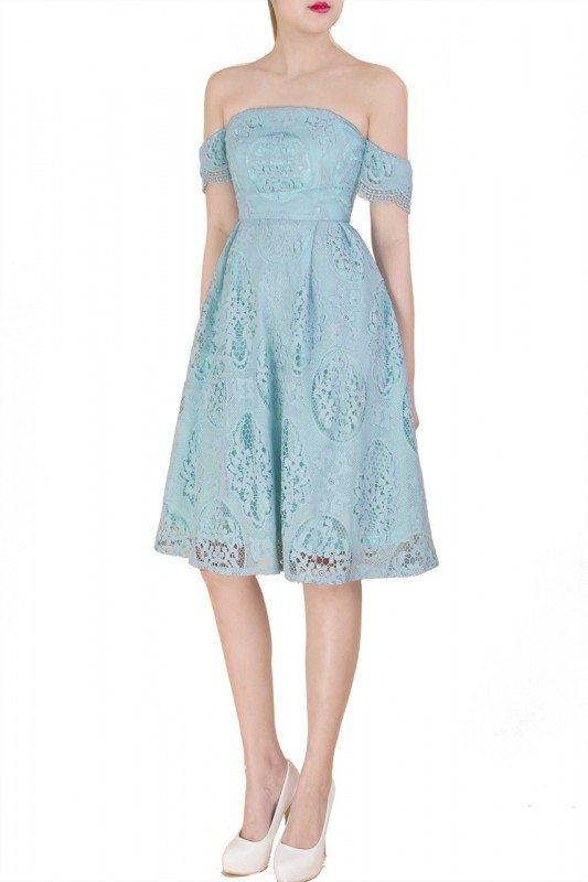 difernxia mint green dress