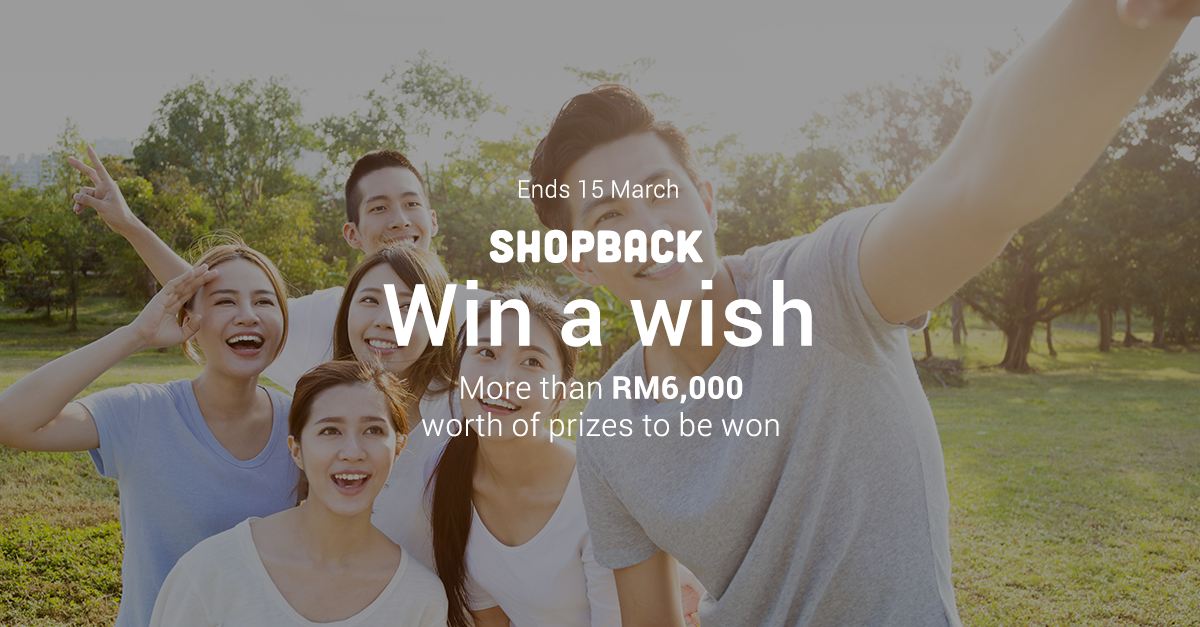 Win A Wish! Blog and Win with ShopBack!