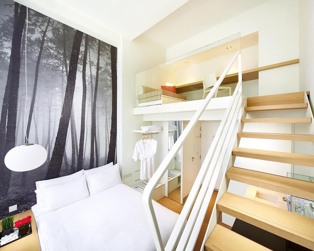 Studio M loft rooms