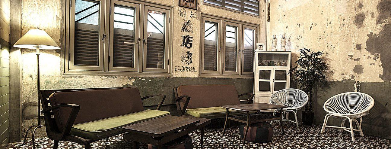Kam Leng Hotel vintage nostalgic-inspired