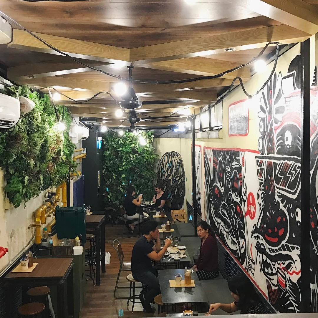 Forty Hands Cafe in Singapore