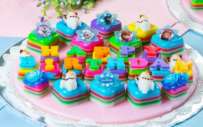 Disney-Themed Mini Jelly Cakes - Q Jelly