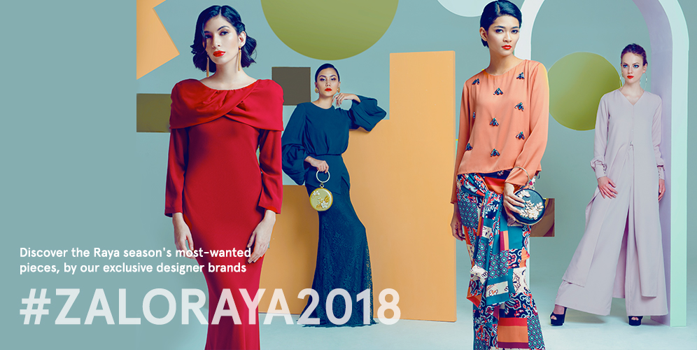 Game-Changing Baju Raya from Zaloraya 2018 You'll Want This Year