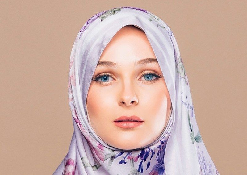 Fashion Valet Tudungpeople's Carnation Amour Shawl in Lilac