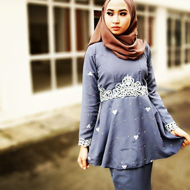 denim blue sareebyzahraa