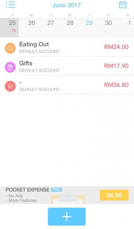 best expense tracking app pocket expense