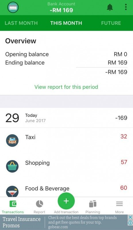 best expense tracking app money lover