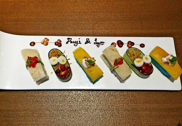 Ruyi and lyn sushi platter