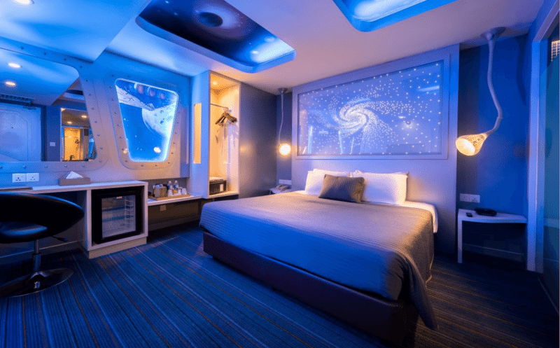 Image credit: Hotel Maison Boutique Theme Room, Space Odyssey