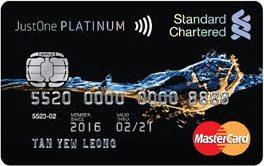 Standard Chartered JustOne Platinum Mastercard