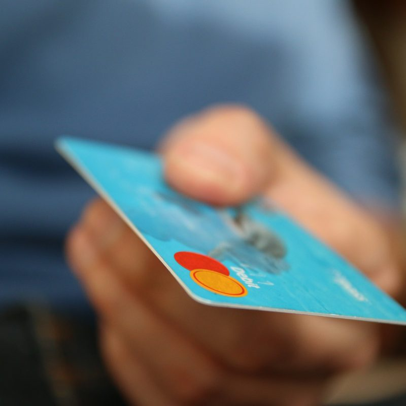 credit card man
