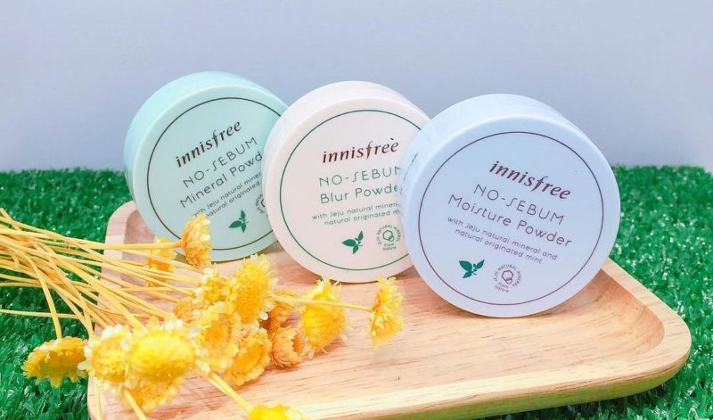 No Sebum collection from Innisfree