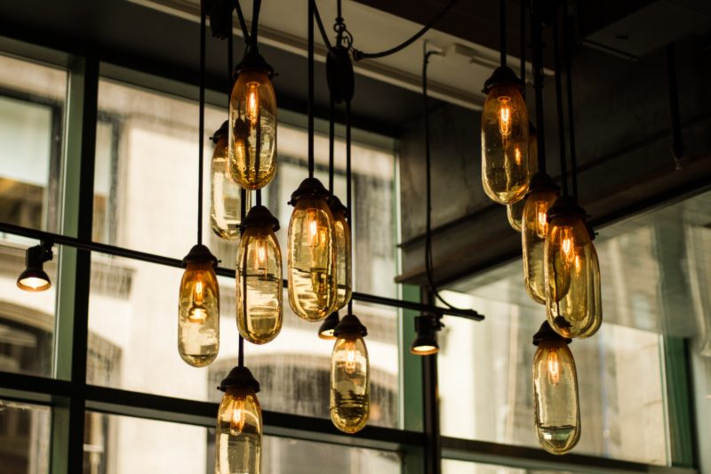 6. Install Funky Light Bulbs