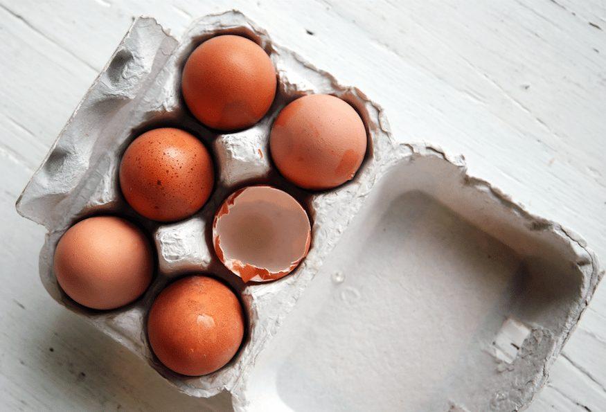 Naturally Glowing Skin - Egg white
