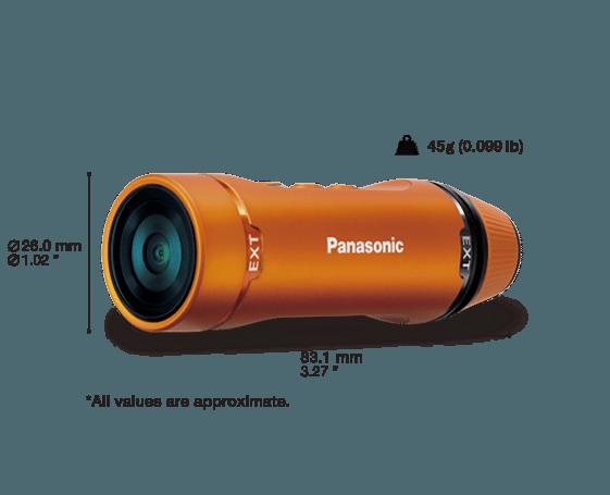 panasonic hx-A1 camera